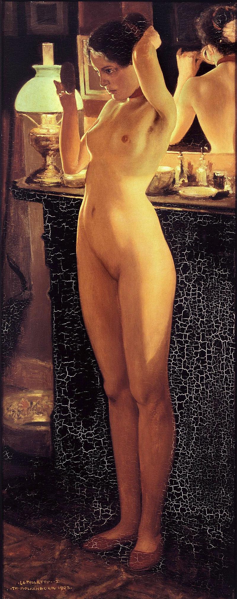 Theo Molkenboer - La Toilette 1903.jpg