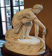 Thetis dipping Achilles in the River Styx by Thomas Banks 02.jpg