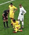 Thiago Silva blessé, Marquinhos, Areola.jpg