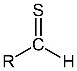 Thial - Chemical structure of a thial.