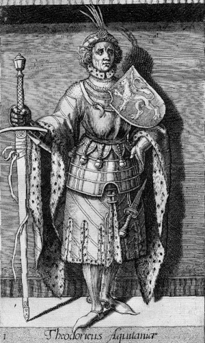 Dirk I, Count of Holland - Dirk I as imagined in the 16th century