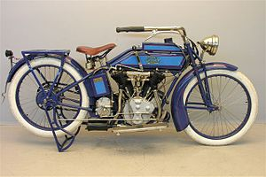 Thor (motorcycles) - Image: Thor 1000 cc 1916