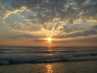 San Marcos Department - Sunset at Tilapa beach, Ocos, San Marcos