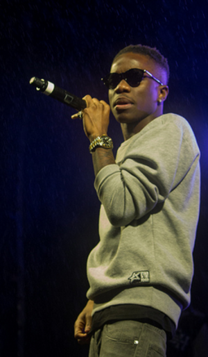 Tinchy Stryder - Tinchy Stryder performing in 2013