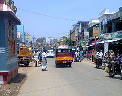 View of Thirumangalam Usilampatti road