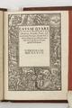 Titelblad till bok, 1537 - Skoklosters slott - 103693.tif