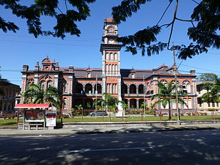 Queens Royal College secondary school in Port of Spain, Trinidad and Tobago