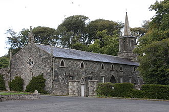 Tollymore Forest Park - Clanbrassil barn