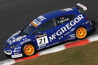 Sunred Engineering - Image: Tom Coronel 2009 WTCC Race of Japan (Free Practice)