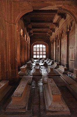 Tombs inside Jama Masjid complex, Fatehpur Sikri