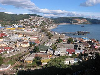 Tomé City and Commune in Biobío, Chile