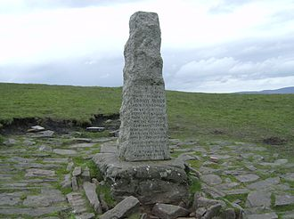 Pen y Fan - Tommy Jones Obelisk
