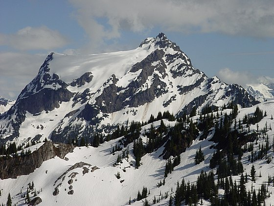 Tomyhoi seen from Mt. McGuire in Canada Tomyhoi Peak north aspect.jpg