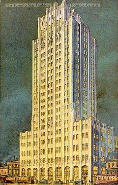 Toronto Star Building 1929