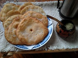 Sopaipilla - Torta frita, Argentina and Uruguay