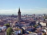 Toulouse - View on Saint Sernin.jpg