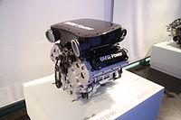 Touring race engine P60 B40 in BMW-Museum in Munich, Bayern.JPG