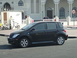 Toyota ist - Toyota xA (UAE)
