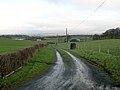 Track Leading to Brownlee Farm - geograph.org.uk - 325034.jpg