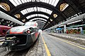 Train at Milano Centrale station in Milan Italy.jpg
