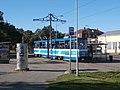 Tram 143 at Linnahall Tram Stop in Tallinn 3 October 2015.jpg
