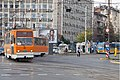 Tram in Sofia near Macedonia place 2012 PD 050.jpg