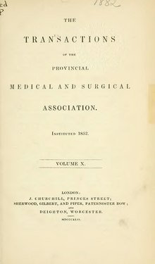 Transactions of the Provincial Medical and Surgical Association, volume 10.djvu