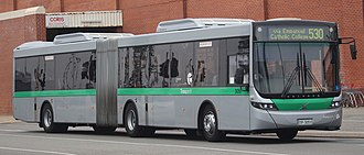 Articulated bus - Volgren Optimus bodied Volvo B8RLEA of Transperth