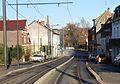 Travaux de la branche vers Vieux-Condé de la ligne B du tramway de Valenciennes en décembre 2013 (236).JPG