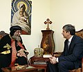 Treffen mit Papst-Patriarch Tawadros II (8933813019).jpg