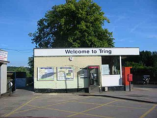 Tring railway station railway station in Hertfordshire, England