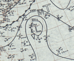 Tropical Storm Eight surface analysis November 7, 1935.png