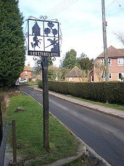 Trottiscliffe Village Sign - geograph.org.uk - 1177038