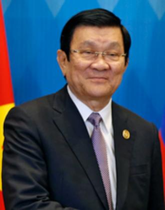 Trương Tấn Sang - Image: Truong Tan Sang Nov 2015
