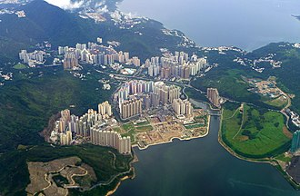 Sai Kung District - Day view of Tseung Kwan O in the Sai Kung District