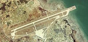 Tsuiki Air Field - Image: Tsuiki Air Base Aerial Photograph