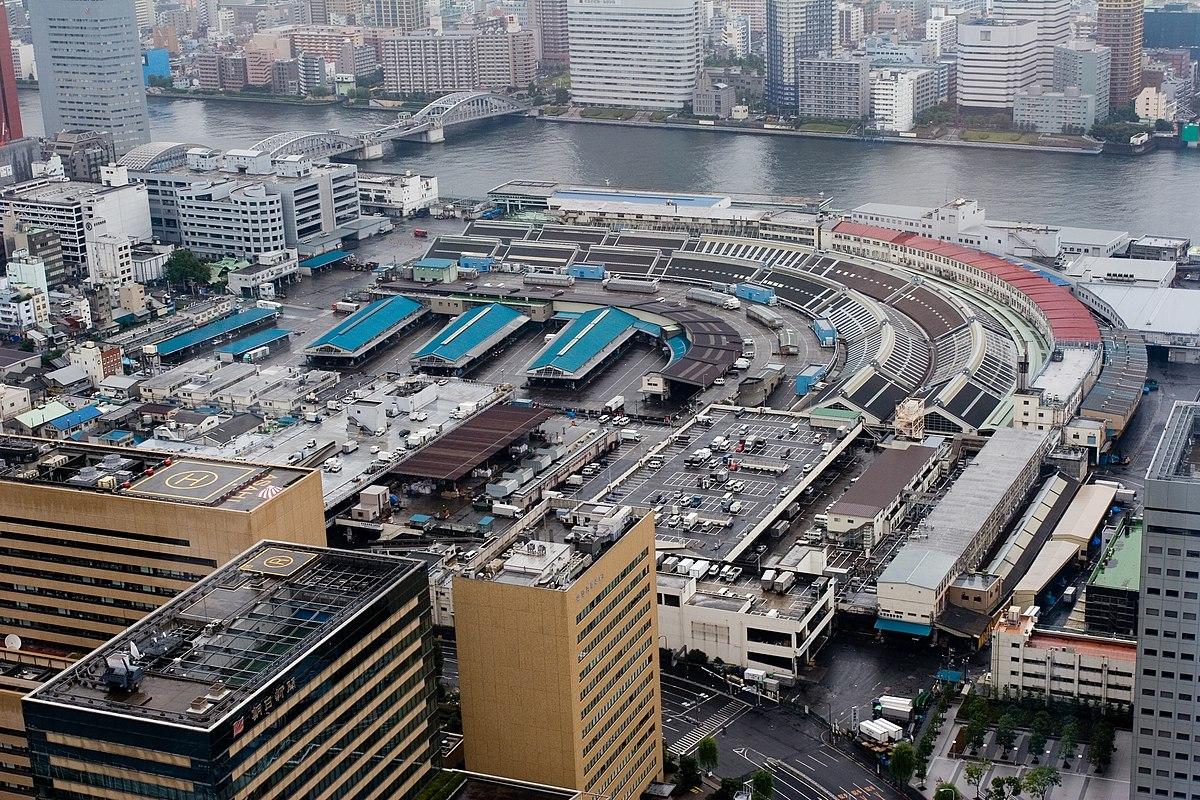 Tsukiji wikipedia for Japan fish market