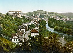 Tuebingen um 1900