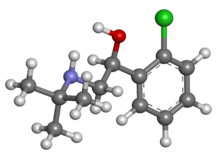 Tulobuterol ball-and-stick.png