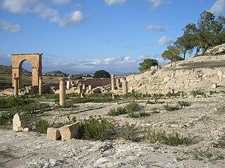 Feradi maius archaeological site in Tunisia