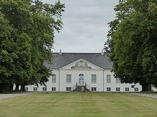 Turebyholm Manor house near Copenhagen, Denmark