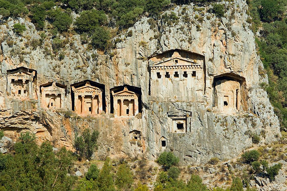 Turkey.ancient.tombs