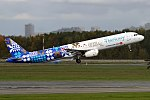 Turkish Airlines (Discover the Potential Livery), TC-JRG, Airbus A321-231 (36970165434).jpg