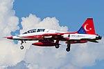 Turkish Stars Northrop F-5B Freedom Fighter at Ghedi.jpg