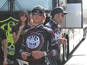 Tyler Hamilton - Hamilton at the 2008 Tour of California