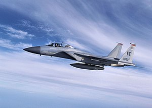 1st Fighter Squadron - F-15 Eagle from Tyndall Air Force Base