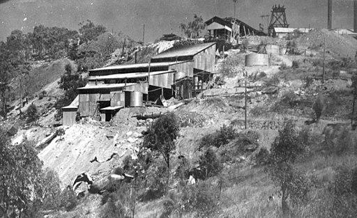 Tyrconnell gold mine battery, Hodgkinson goldfield, 1936 (7464838796)