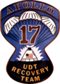 U.S. Navy Underwater Demolition Team 11 Apollo 17 recovery insignia, 1972.png