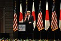 U.S. Secretary of State John Kerry delivers a speech about US-Pacific relations at the Tokyo Institute of Technology in Tokyo, Japan, on April 15, 2013 (2).jpg