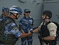 U.S. and Chinese Sailors conduct exercise in Gulf of Aden. (9612687443).jpg